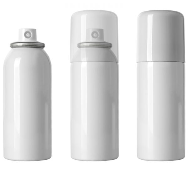 Generic photo of 3 white aerosol cans on white background   Class C Components