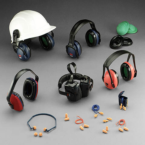 Hearing Protection Ear Muff and Ear Plugs | Class C Components