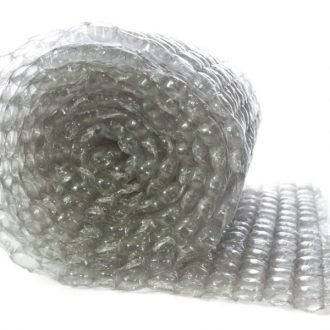 Rolled Bubble Wrap on White Background | Class C Components