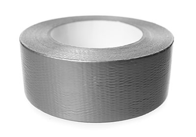 Roll of Duct Tape on a White Background | Class C Components