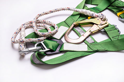 Green Safety Harness | Class C Components
