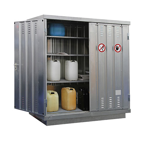 Storage Locker for Flammable Products | Class C Components