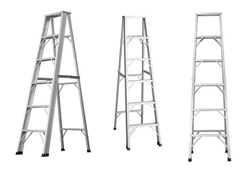 Ladders on a White Background | Class C Components