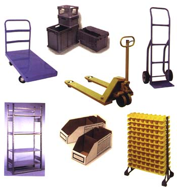 Material Handling Carts and Storage Bins   Class C Components