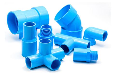 Blue PVC Fittings   Class C Components