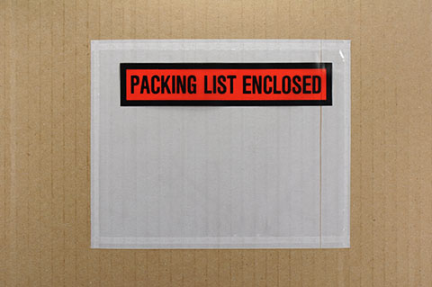 Packaging Slip Envelopes | Class C Components