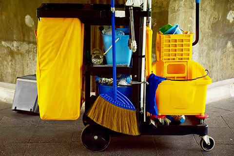Janitorial Cart | Class C Components