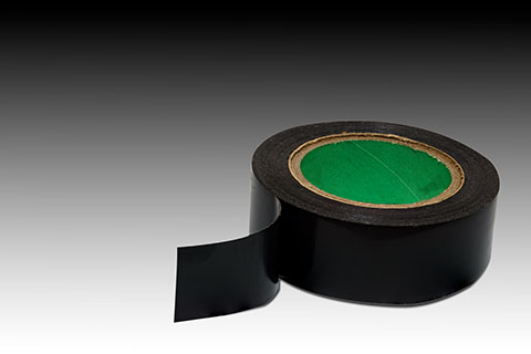 Black Electrical Tape | Class C Components