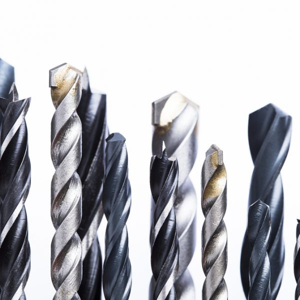 Drill Bits on White Background | Class C Components