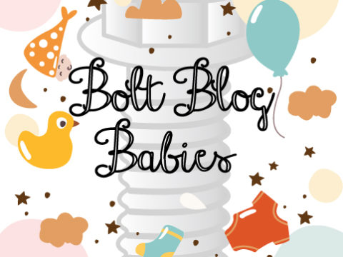 Semi-Transparent Bolt Graphic | Baby Party Graphics | Class C Components
